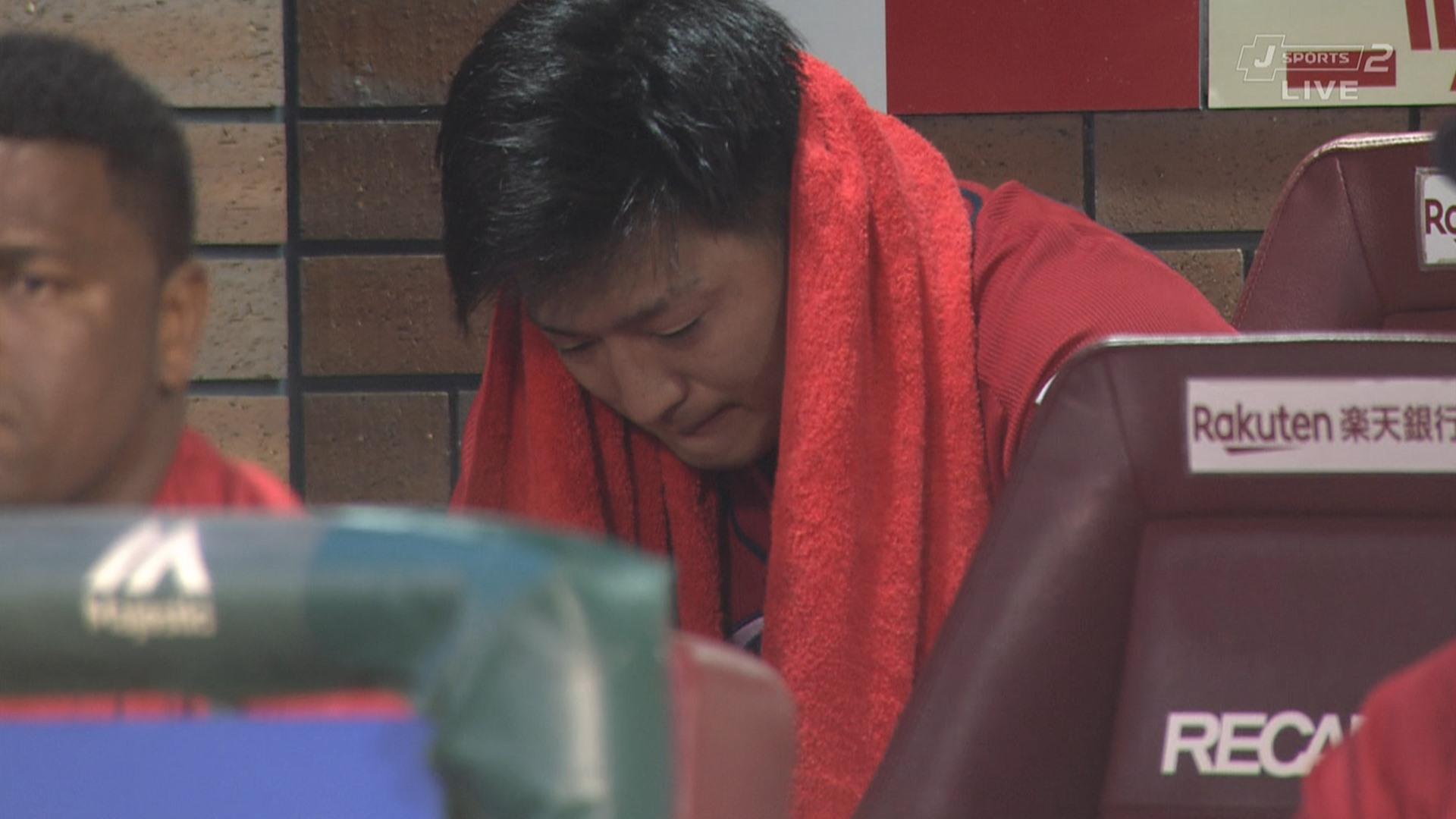 広島・床田、2回途中5被弾KO ベンチでボロ泣き