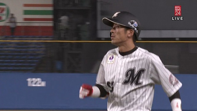 ロッテ・0-岡田、最悪の誕生日 53打席連続打席無安打で野手の日本記録に並ぶ