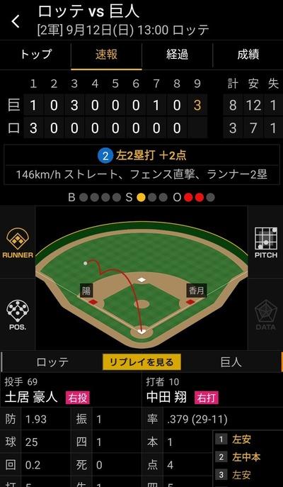 中田翔、5打数4安打5打点1本塁打の大暴れwwww
