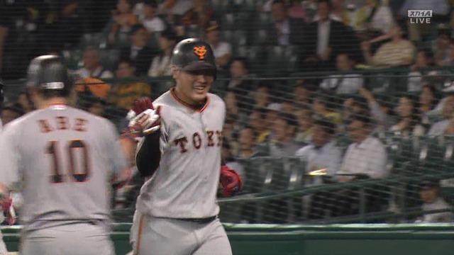巨人・岡本、史上最年少で3割30本100打点達成! シーズン最後の打席で2ラン本塁打!!