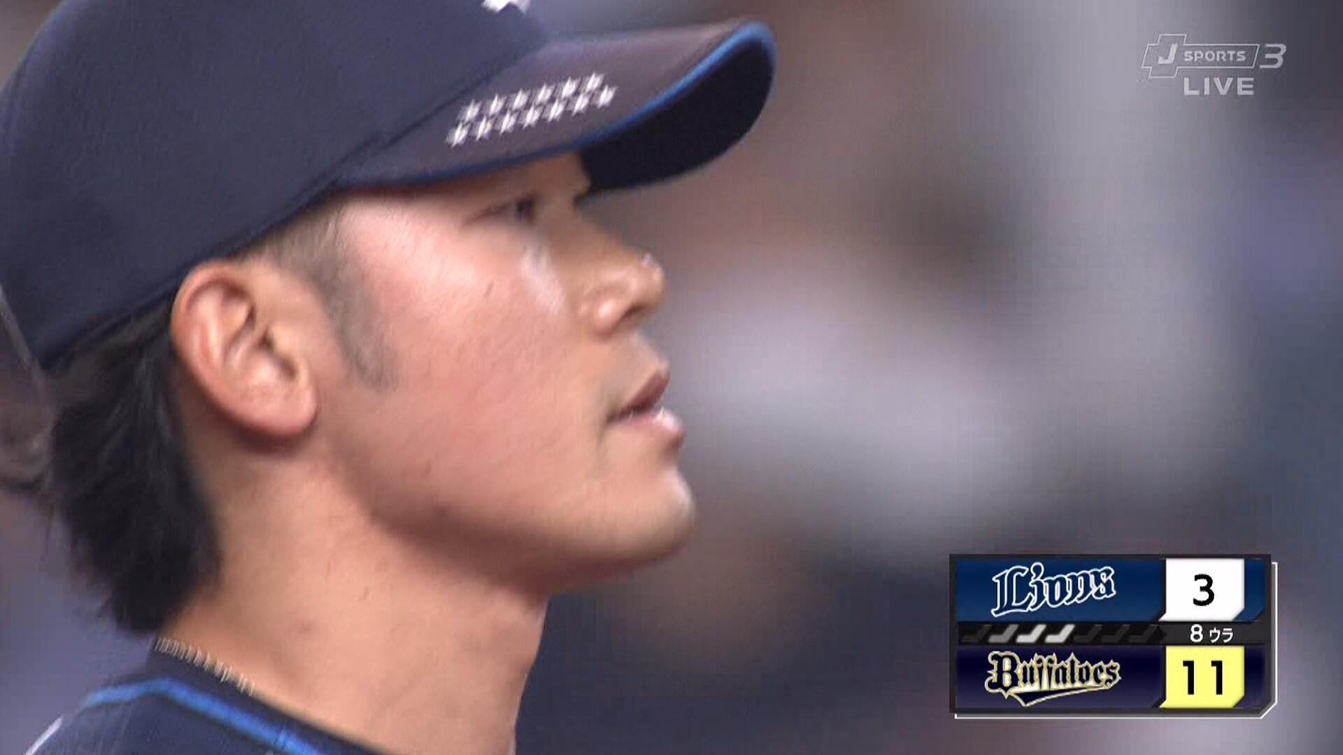 西武・田村、2者連続押し出し死球 → 甘い球を狙われてボコられる