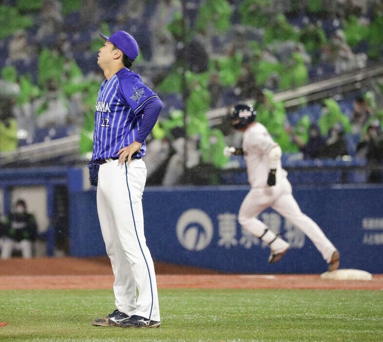 DeNA・入江大生 防御率6.91 0勝3敗