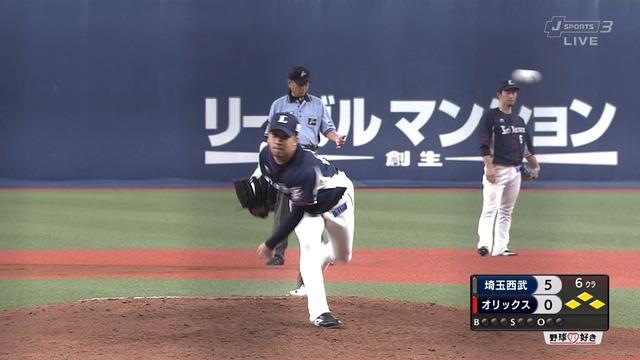 【悲報】 野田昇吾さん、3試合 防御率0.00 奪三振率9.00で2軍降格