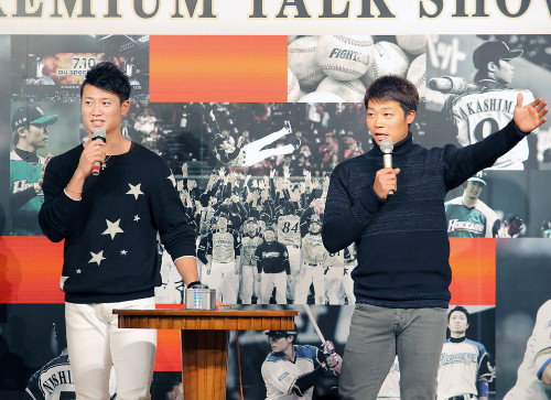 """中島卓也さん、則本&西から""""プロ初本塁打""""を宣言"""