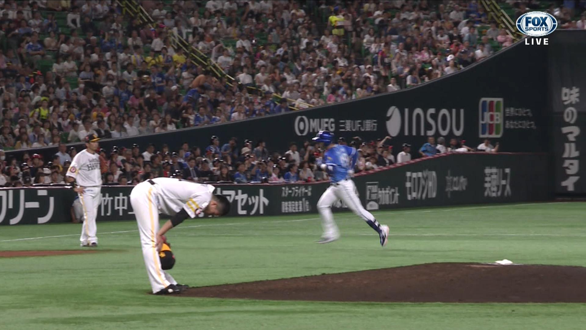 DeNA・ソト、千賀から満塁ホームランwwww