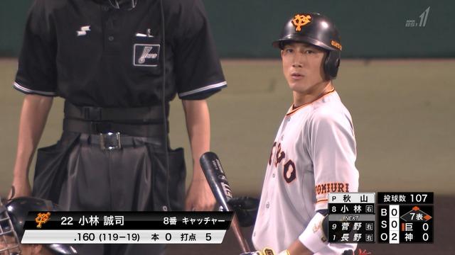 小林誠司 出塁率.259 千葉ロッテ 出塁率.257