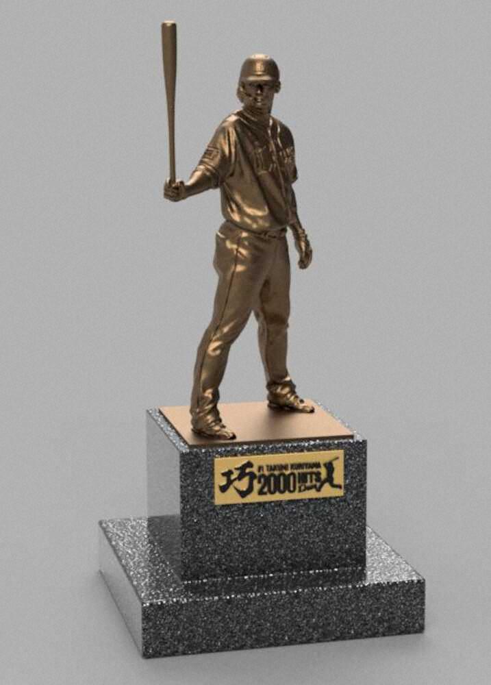 西武、栗山巧の実寸大の銅像を990万円で販売wwww