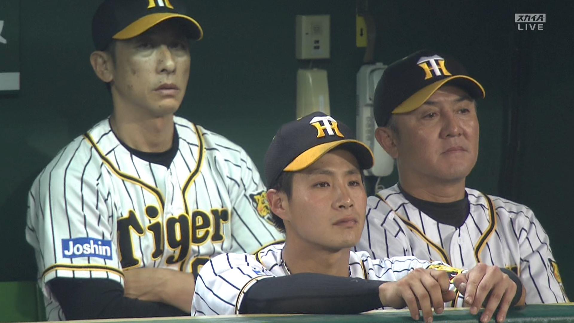 矢野監督、走塁ミスの木浪を懲罰交代wwww