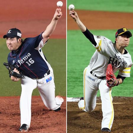 菊池雄星(対鷹0勝13敗)と千賀滉大(メラド10登板0勝)の投げ合い