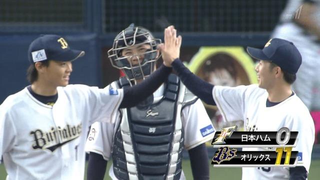 オリックス・山崎福也、プロ初完封! 138球の熱投