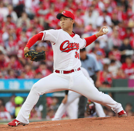 広島・高橋昂也、左肘をトミージョン手術