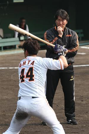 松井秀喜さん、巨人宮崎キャンプで臨時コーチ就任