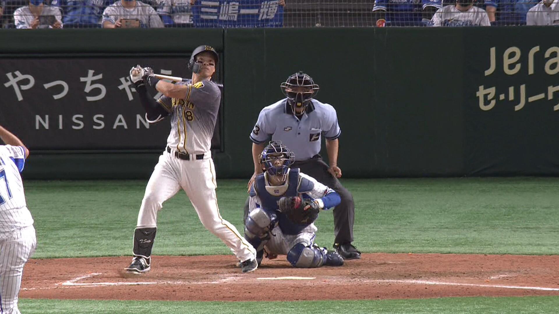 阪神・佐藤輝明、球団新人記録を更新する23号ホームラン