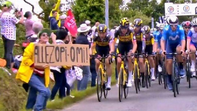 ツール・ド・フランスで大クラッシュ事故の原因つくった観客逮捕