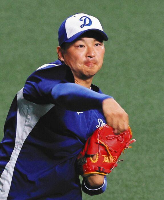 中日・田島、1軍昇格! 昨年トミー・ジョン手術、復帰後2軍で防御率1.04