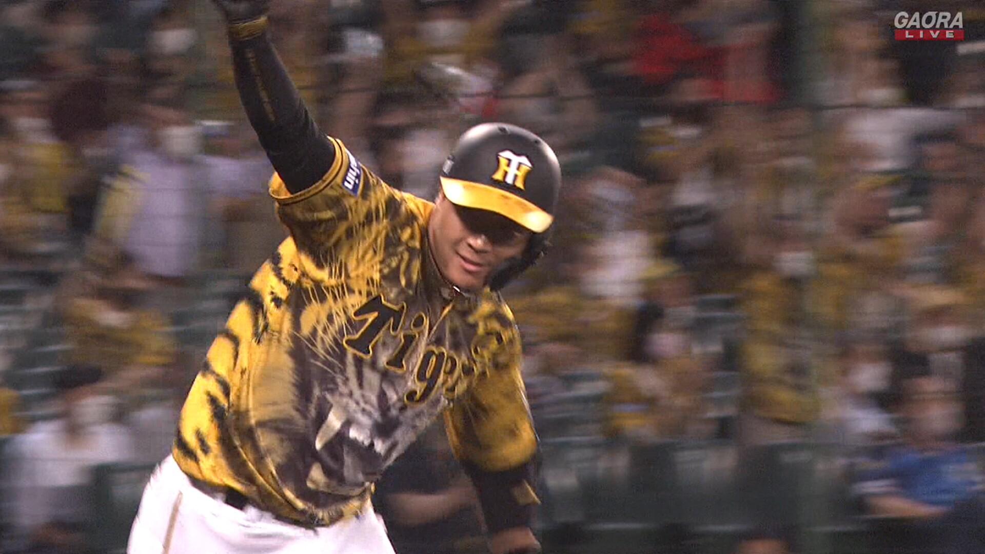 阪神、9回裏2アウトから5連打で逆転サヨナラ勝ちwwwww