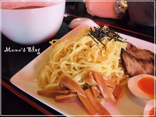 明神そばのつけ麺