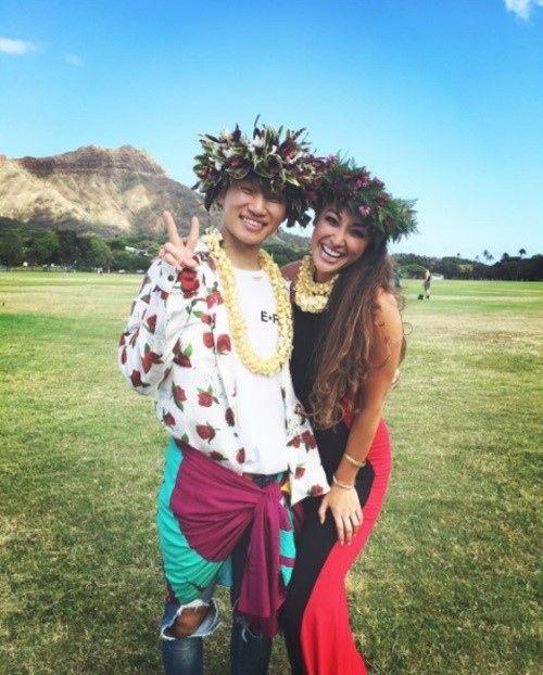 【BIGBANG NEWS】BIGBANGのD-LITE、ハワイで美女と笑顔のツーショット…近況が話題