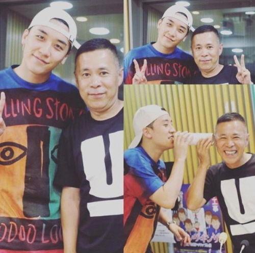 【BIGBANG NEWS】BIGBANGのV.I&岡村隆史、豪華2ショットが話題…日本ラジオ番組で共演