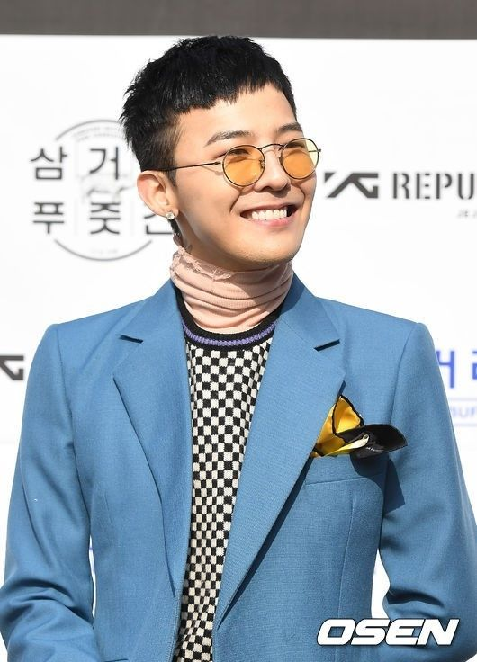 "【BIGBANG NEWS】""27日入隊""BIGBANGのG-DRAGON、今年初めて公式の場に登場「軍隊には元気に行ってくる」"