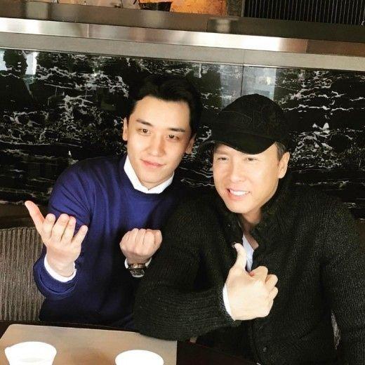 【BIGBANG NEWS】ドニー・イェン、BIGBANGのV.Iとのツーショットを公開「中国語が話せるとは!」