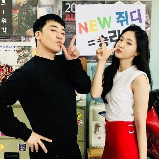 【BIGBANG NEWS】BIGBANGのV.I、Apink ソン・ナウンとの2ショットに関心集中…新バラエティに高まる期待