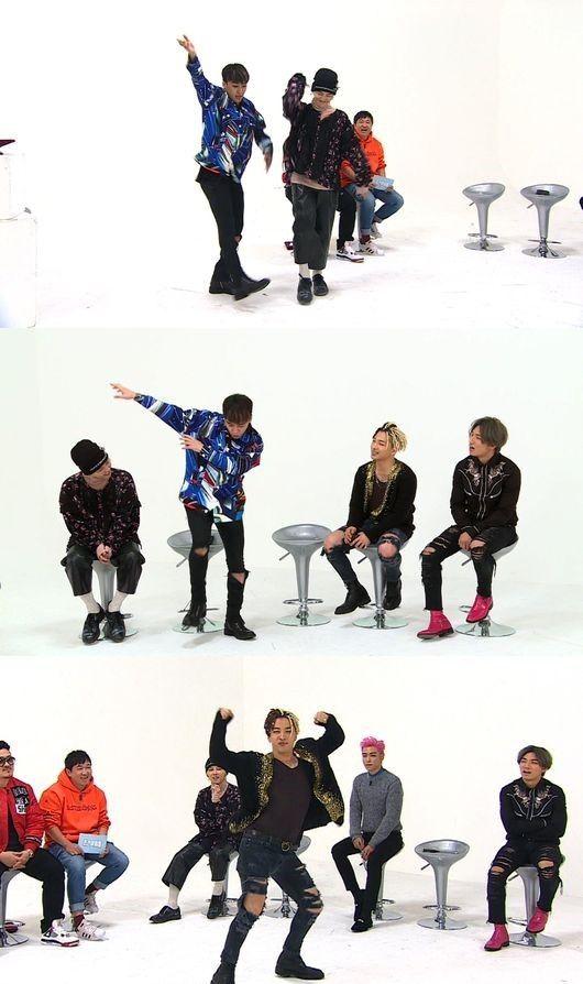 【BIGBANG NEWS】BIGBANG、T.O.Pを脅かすラップの披露も!?11日放送の「週刊アイドル」で激しいミッション対決を公開