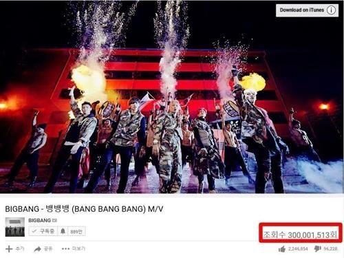【BIGBANG NEWS】BIGBANG「FANTASTIC BABY」に続き「BANG BANG BANG」が再生数3億回超え