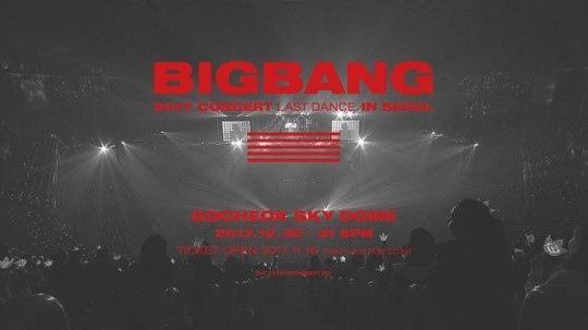 【BIGBANG NEWS】BIGBANG、本日(11/16)ソウルコンサートのチケット販売開始…感性溢れる予告映像公開