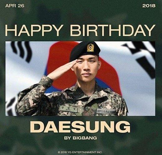 【BIGBANG NEWS】YGヤン・ヒョンソク代表、BIGBANGのD-LITEの誕生日を祝福…入隊中の姿公開