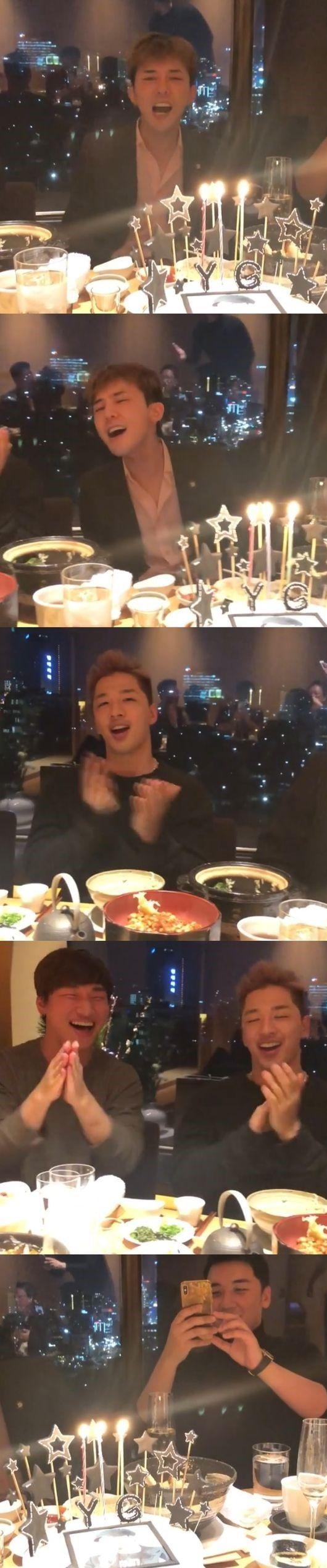 【BIGBANG NEWS】BIGBANG、パーティーで熱唱…ヤン・ヒョンソク代表の誕生日をお祝い(動画あり)