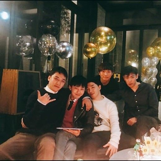 【BIGBANG NEWS】T.O.Pの姿も…BIGBANG、入隊直前にメンバー全員集合!変わらない5人の絆