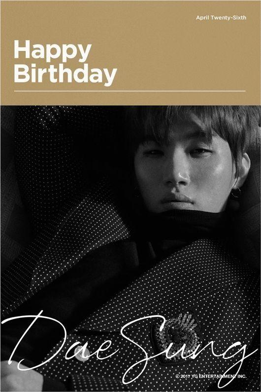 """【BIGBANG NEWS】YG、BIGBANGのD-LITEの誕生日を祝う画像を公開""""普段の姿とは違う魅惑的な眼差し"""""""