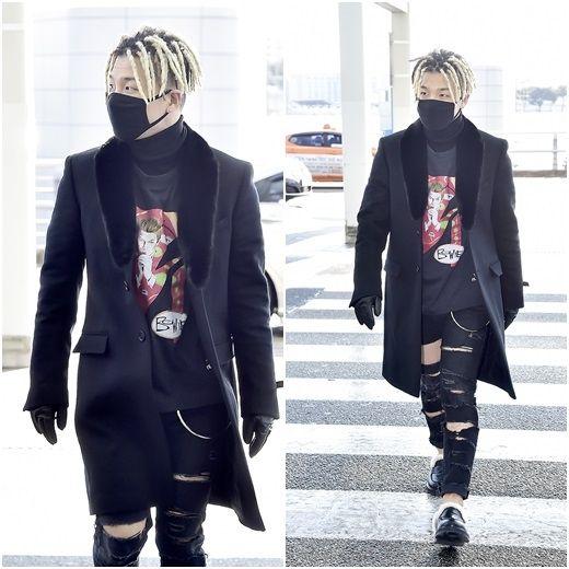 【BIGBANG NEWS】BIGBANGのSOL、ユニークな空港ファッションを披露…オールブラックスタイルで登場