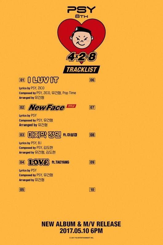 【BIGBANG NEWS】BIGBANGのSOL&イ・ソンギョンがフィーチャリングに参加!PSY、8thフルアルバムのトラックリスト第2弾を公開……