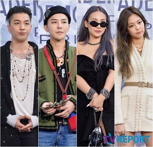 "【BIGBANG NEWS】BIGBANGからBLACKPINKメンバーまで…ファッションイベントに登場した""最強のYG軍団"""