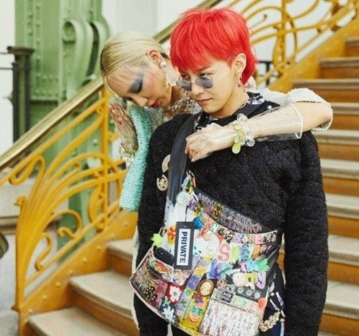 【BIGBANG NEWS】G-DRAGON、パリで美女モデルのSOOJOOとの写真が話題…肩を組んだ姿に視線集中