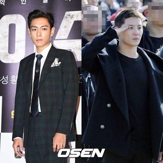 【BIGBANG NEWS】BIGBANGのT.O.P&JYJ ジュンス、明日(29日)訓練所を退所…義務警察として本格始動