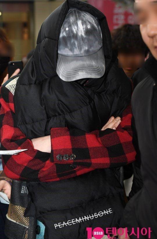 """【BIGBANG NEWS】【PHOTO】BIGBANGのG-DRAGON、スケジュールを終え済州島からソウルに到着""""隠しきれないオーラ"""""""