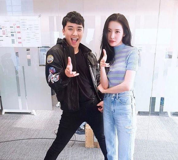 【BIGBANG NEWS】BIGBANGのV.I&元Wonder Girls ソンミ、コラボを予告!?…「Gashina」ポーズでツーショット