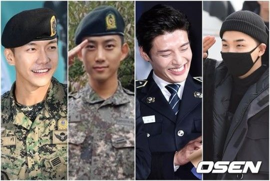 【BIGBANG NEWS】BIGBANGのSOLから2PM テギョンまで…真面目な軍生活で話題のスターTOP4