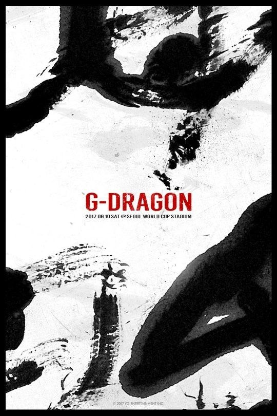 【BIGBANG NEWS】BIGBANGのG-DRAGON、6月10日ソロコンサート「母胎」開催決定!公式ポスター公開