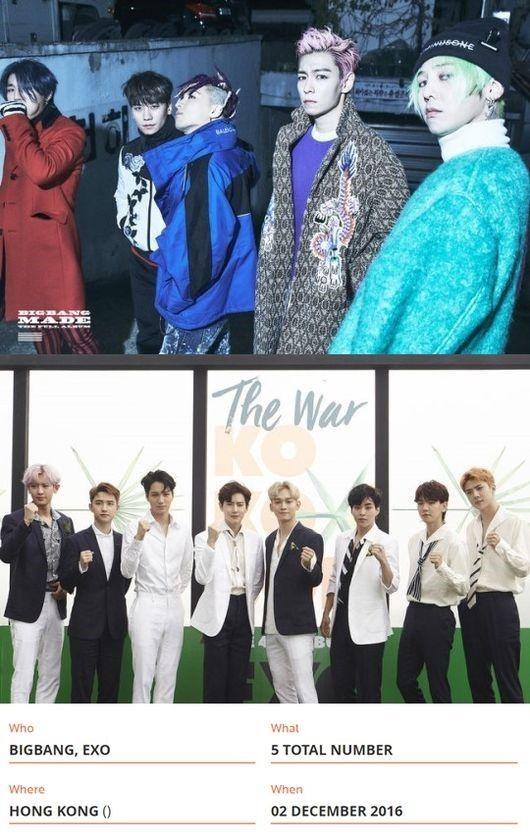 【BIGBANG NEWS】BIGBANG&EXO、MAMA大賞最多保有者としてギネス世界記録に登載!