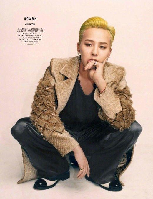 【BIGBANG NEWS】BIGBANGのG-DRAGON、圧倒的なオーラに視線集中…フランスの雑誌に登場