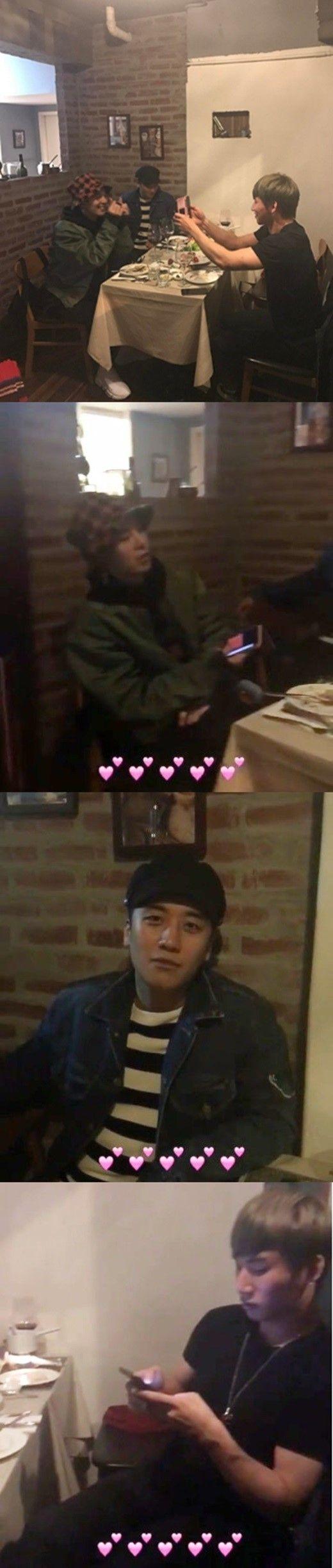 【BIGBANG NEWS】BIGBANG、メンバーたちが集合!軍入隊中のT.O.Pを除く4人の食事会を公開
