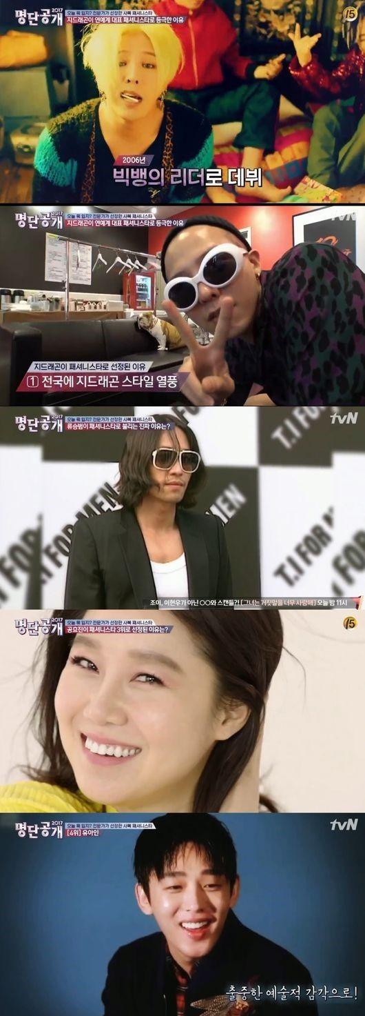 【BIGBANG NEWS】「芸能界私服ファッショニスタ」1位に選ばれたのは?TOP8を発表