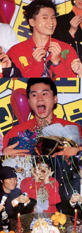 【BIGBANG NEWS】BIGBANGのSOL、ヤン・ヒョンソク代表の若々しい過去写真で誕生日をお祝い「HBD YG!」