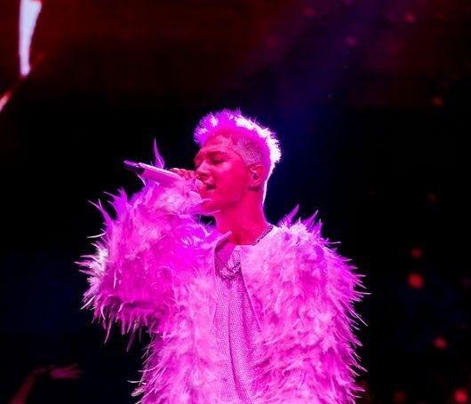 【BIGBANG NEWS】WINNER ソン・ミノ、BIGBANGのSOLのソロコンサートにサプライズ登場!
