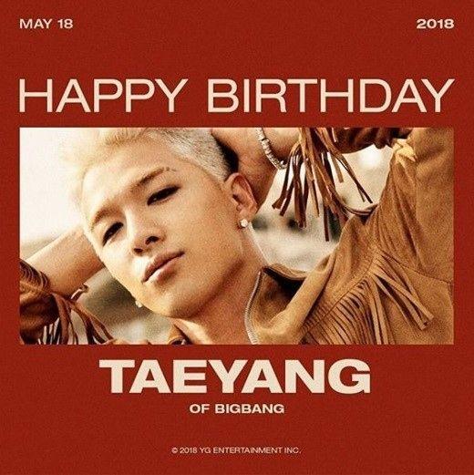 【BIGBANG NEWS】YGヤン・ヒョンソク代表、BIGBANGのSOLの誕生日を祝福「おめでとう」