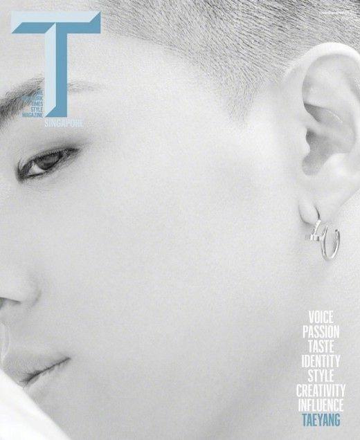"""【BIGBANG NEWS】BIGBANGのSOL、シンガポール雑誌の表紙を飾る…神秘的なオーラに""""視線釘付け"""""""